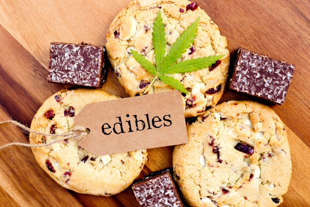making edibles - history