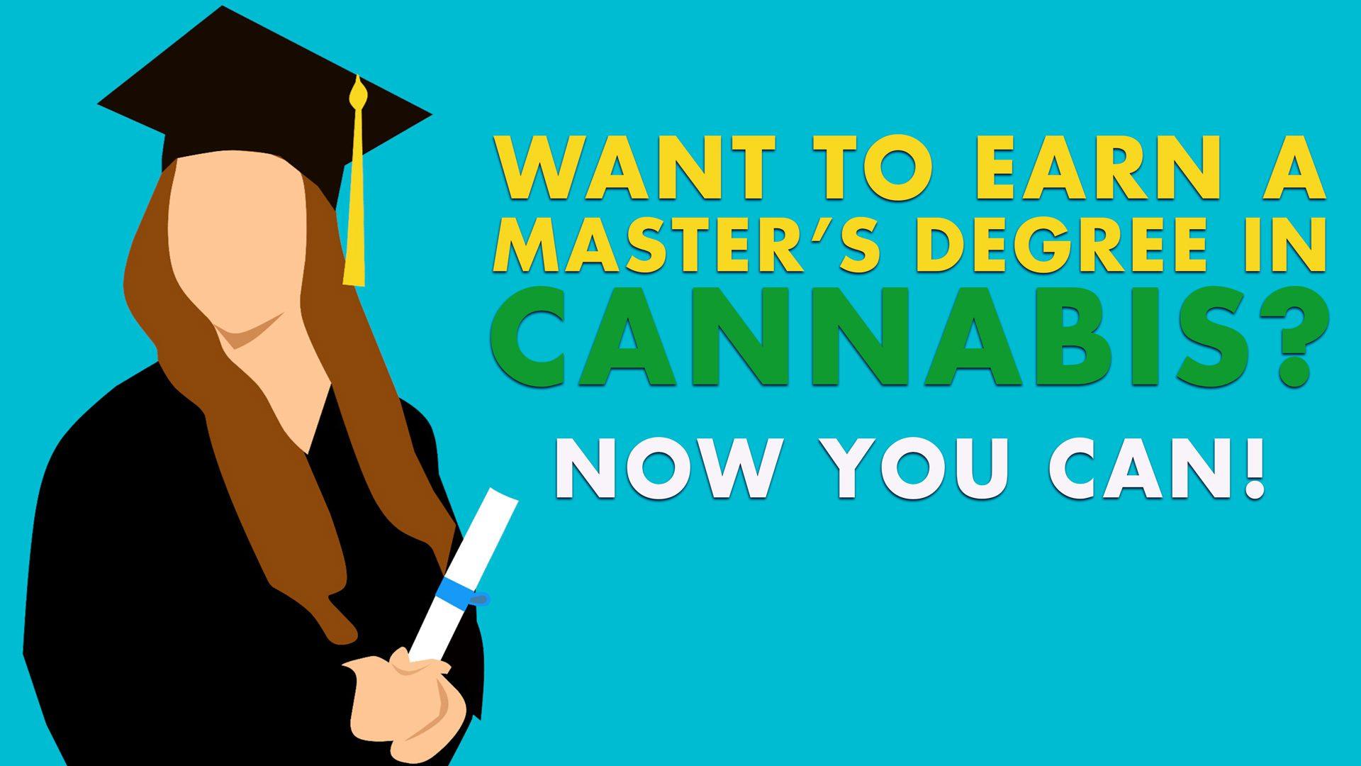 cannabis master's degree