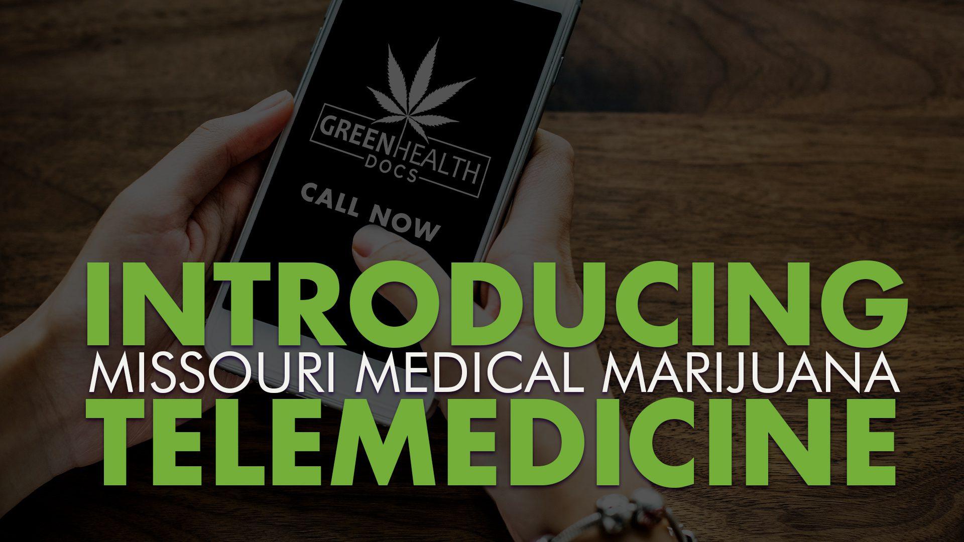 Medical Marijuana Telemedicine Arrives