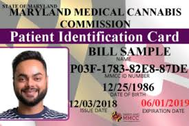 Maryland Medical Marijuana Card