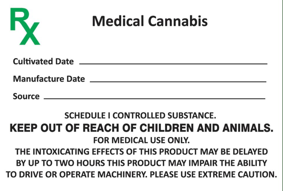 How to read medical marijuana labels